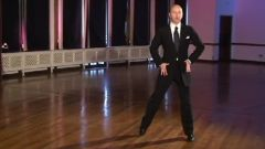 Andrew Sinkinson - Ballroom - Advance Double Right Foot Lunge