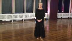 Loraine Baricchi - Ballroom - Waltz - Same Foot Lunge To Develop