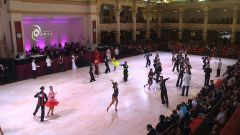 Blackpool Dance Festival 2016 - Professional Latin Birds eye view Thursday 2nd June 2016