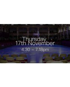 British National Dance Championships 2016 - Thursday 4.30-7.15pm